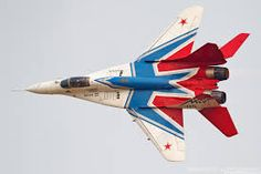 Strizhi (Swifts) Aerobatic Team, MiG-29, Russian Air Force