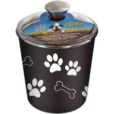 Bella Canister, 64 oz, Brown