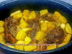 Χοιρινό με κολοκύθα στη γάστρα - Τα φαγητά της γιαγιάς Pot Roast, Oven, Pork, Pumpkin, Ethnic Recipes, Greek, Carne Asada, Kale Stir Fry, Roast Beef