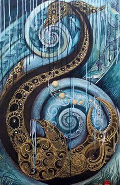 Art Gallery fifteen Kokowai Artist Robin Slow, New Zealand Nz Art, Art For Art Sake, Maori Symbols, Spirals In Nature, Maori Patterns, Polynesian Art, Mural Art, Murals, Maori Designs