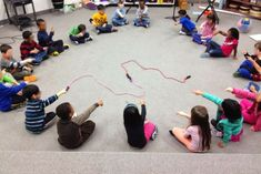"""K Lesson for vocal exploration using """"The Squiggle"""" book"""