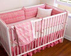 Elizabeth Allen Atelier Shell Gabriel crib bedding.