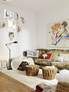 Drift wood _ love the tables!!