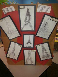 Eiffel Tower drawings...
