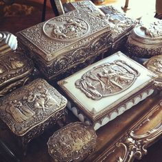 Little Boxes, Handicraft, Decorative Boxes, My Love, House, Home Decor, Small Boxes, Craft, My Boo