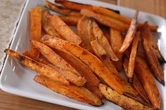 Baked Sweet Potato Fries | Annie's Eats