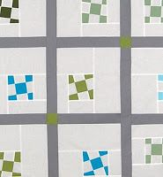 ReannaLily Designs Blog: Wonky 9-Patch Quilt AccuQuilt GO! Compatible FREE Modern Quilt Pattern