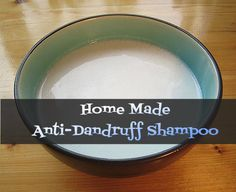 Home Made Anti-Dandruff Shampoo - http://www.livenedup.com/home-made-anti-dandruff-shampoo/