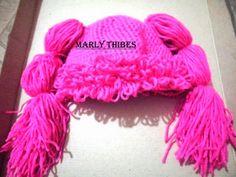 MARLY THIBES  BLOGGER: ( FAZENDO ARTE E CUSTOMIZANDO ): gorro infantil ponto lapis em croche