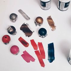 Painting beads #craft #beads #paint #diyjewellery