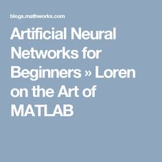 artificial neural network for beginners pdf