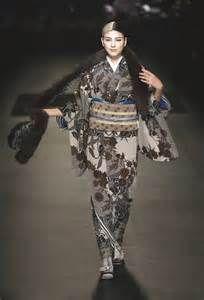 Jotaro Saito s Kimono Collection Japanese label Jotaro Saito showcased ...