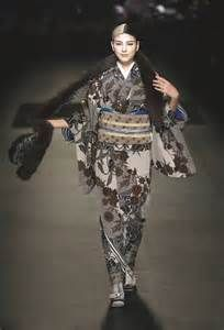 Jotaro Saito s Kimono Collection Japanese label Jotaro Saito showcased ...