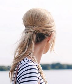 Take your ponytail to the next level with this hair hack.