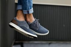 The Hepner Woven is a multi-season shoe. No need to put them away as we transition through fall, winter, spring, or summer. Their sleek style combined with optimal comfort is what makes them the perfect year-round sneaker.