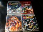 LOT 4 PS3 Games marvel vs capcom/marvel/lego/batman
