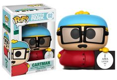 Pop! TV: South Park The massively popular animated show South Park is coming to Pop! vinyl! This series features the morally-questionable Cartman, naïve Butters,tiny Canadian Ike Broflovski, and the vigilante Mysterion! You can also collect Zombie Kenny, available exclusively at Hot Topic! Coming this winter!   Coming in February!