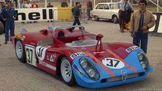 24 heures du Mans 1970 - Alfa-Roméo T33/3 #37- Pilotes : Toine Hezemans/Masten Gregory - Abandon