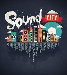 SOUND CITY by dandingeroz.deviantart.com on @deviantART