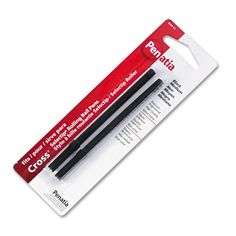 Medium point ink refill is produces smooth, clean lines. Roller ball technology adds to the fine writing experience. Trustcross for consistent high-quality.