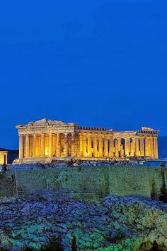 Acropolis of Athens, Greece a few vacations to visit this ancient history