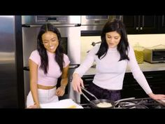 SHRIMP TACOS -- Cooking with Karrueche Tran and Kylie Jenner - YouTube