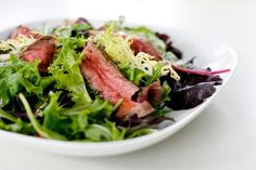 #Thai #Steak salad for DINNER? Sounds delicious, wouldn't you agree? ;)