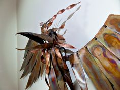 Hey, I found this really awesome Etsy listing at https://www.etsy.com/listing/253508453/copper-phoenix-fantasy-wall-sculpture