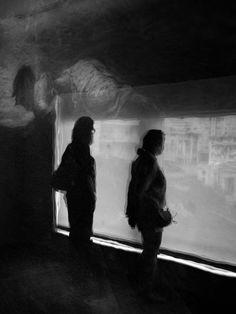 Visite au musée de Biarritz avec Cécile...