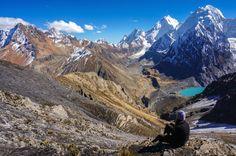 San Antonio Pass Huayhuash. Hike the Peruvian Andes.