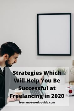 Being successful at freelancing when you start out is not easy. This article gives you some tips to be successful at freelancing in 2020. #Freelance #Successful #Freelancer #Strategies Online Work From Home, Work From Home Moms, Business Video, Business Tips, Future Career, Career Help, Freelance Online, Effective Time Management, Technical Writing
