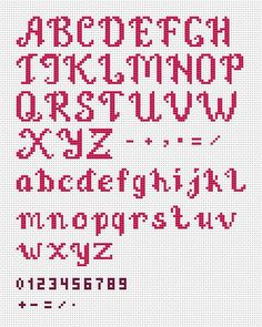 Just married – Wedding Cross Stitch Pattern PDF by AnnaXStitch – Personalized anniversary gift – DIY – Digital File - Kreuzstich Cross Stitch Letter Patterns, Wedding Cross Stitch Patterns, Cross Stitch Letters, Cross Stitch Designs, Cross Stitch Font, Cross Stitch Numbers, Just Cross Stitch, Cross Stitching, Cross Stitch Embroidery