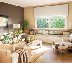 Cómo pintar el salón según sus muebles Home Decor Bedroom, Interior Design Living Room, Living Room Decor, Lounge Decor, Open Space Living, Living Spaces, Home Decor Signs, Home Living, Ideal Home