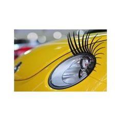 Wimpern Auto : Make-up für die Scheinwerfer 2er Set: Amazon.de: Auto