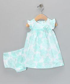 caf75a9f807 Blue Floral Rose Dress  amp  Diaper Cover Rose Dress
