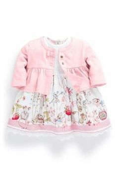 Buy Scene Dress And Shrug Set (0-18mths) from the Next UK online shop