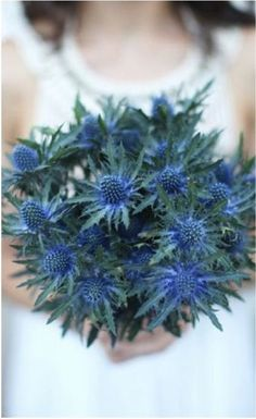 Image result for winter wedding bouquets blue