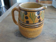 Antique French Alsace Pitcher from Paris Flea Market | eBay