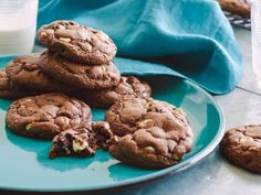 Chocolate Chocolate Chip Cookies - these look similar to the ones i used to make, that i can't find the recipe for.