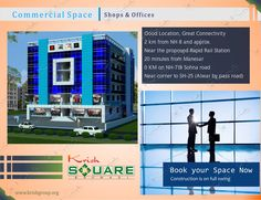 Krish Square offers retail space in the ground and first floor, corporate office space on second-fourth floor & business focus on the fifth floor with fast lifts and world class enhancements alongside two level storm cellar stopping.Krish Square Mall is Built up on facing of 24meter wide State-highway near all famous and of SH-25(Main Alwar Bypass Road).