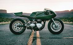 3 Martinin Lunch - Icon 1000 Triumph Thruxton cafe racer via returnofthecaferacers.com