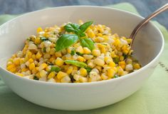 Fresh Corn Salad with Scallions and Basil - Once Upon a Chef