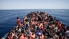 For two months in Greece and Italy came more than a 100 000 migrants