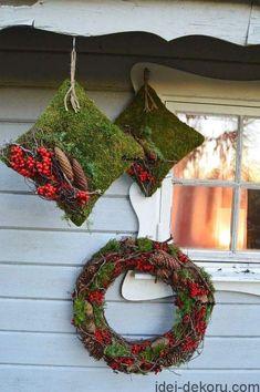 Artist and designer Onega Dahlgren Christmas Flowers, Christmas Mood, Holiday Fun, Christmas Wreaths, Christmas Ornaments, Holiday Decor, Christmas Arrangements, Christmas Centerpieces, Christmas Decorations
