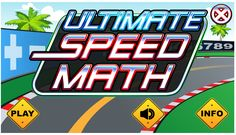 "This is an image from this resource on the Internet4Classrooms' ""Fifth Grade Interactive Math Skills - Multiplication Division"" resource page:    Ultimate Speed Math.    A math car racing game with facts in addition, subtraction, multiplication and division. (Can be played on iPad or Tablet.)"
