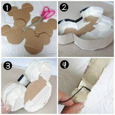 DIY Mickey Mouse Pinata // Inspired By Dis