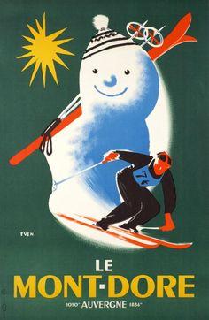 Even Jean / 1938    Le Mont-Doré, Auvergne France