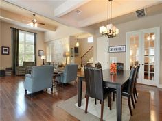 4017 Camacho ST, www.muellersilentmarket.com - Mueller Homes Austin Texas | Mueller Realtor | Mueller Development | Living | Dining | Wood Floors