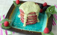 beet pancakes & avocado mint sauce verity nutrition gluten free dairy free Dairy Free, Gluten Free, Mint Sauce, Beets, Pancakes, Avocado, Nutrition, Desserts, Recipes