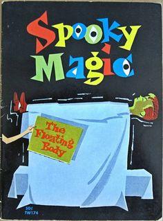 Fun Magic Trick Book For Kids Spooky